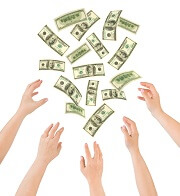 Mensen die geld willen verdienen