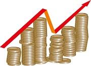 Geld dat alsmaar stijgt
