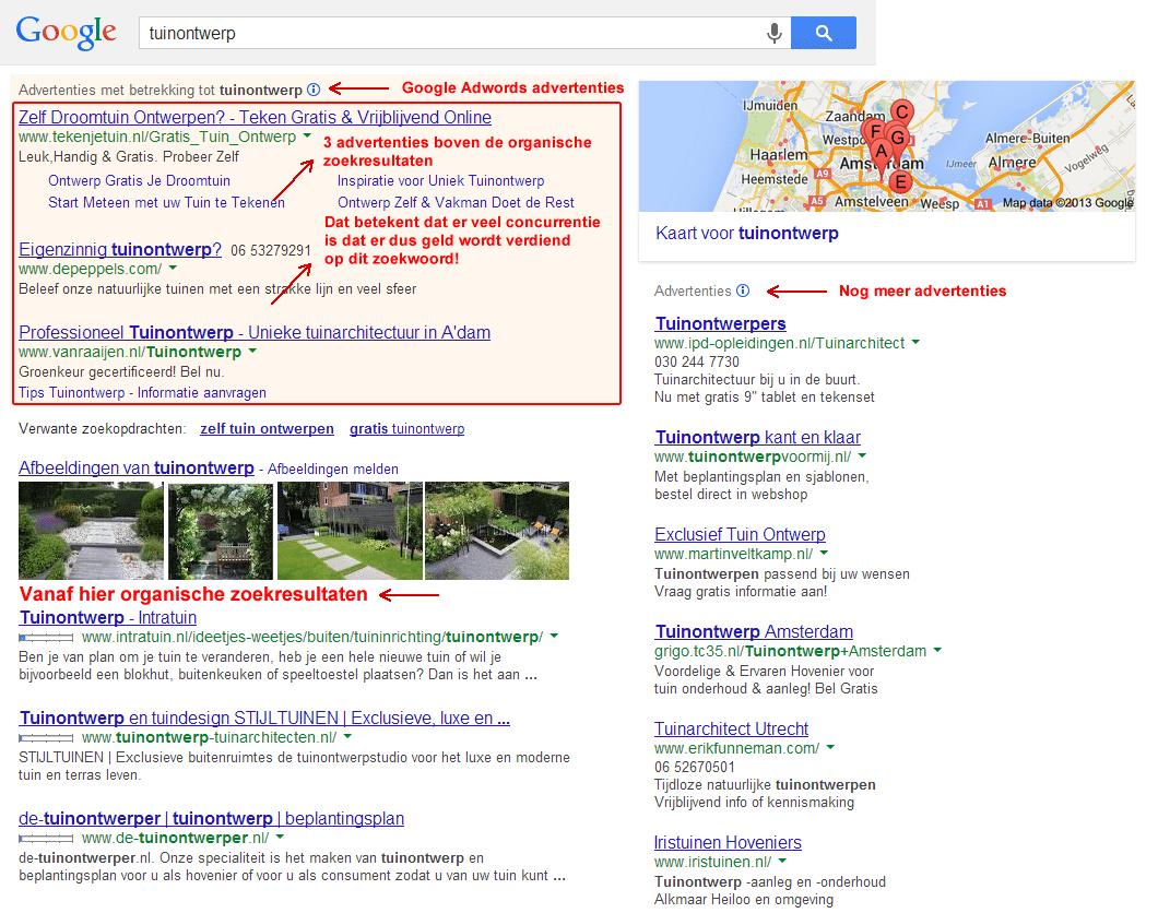 Tuinontwerp zoekresultaten